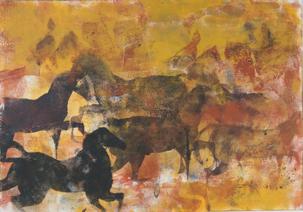 market horse