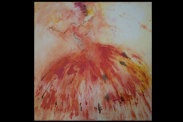 dress- dance clotilde hulin painting